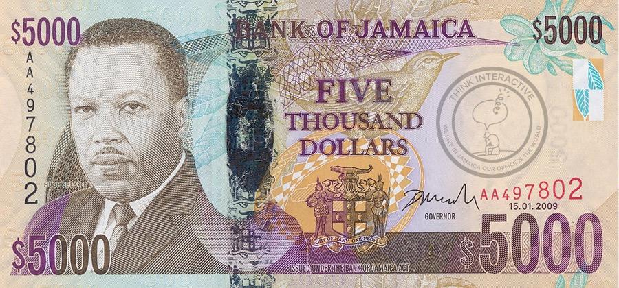Jamaican-5000-Dollar-Bill
